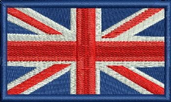 UNION JACK BADGE SALE